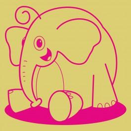 Elefánt bébi