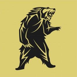 Ágaskodó medve