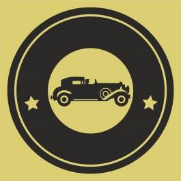 Régi autó logó