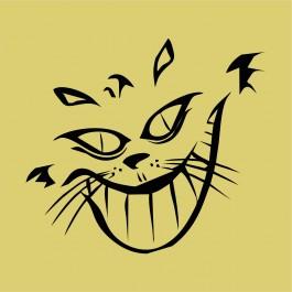 Vigyorgó macska