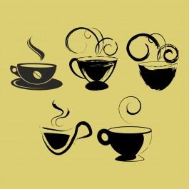 Kávés poharak