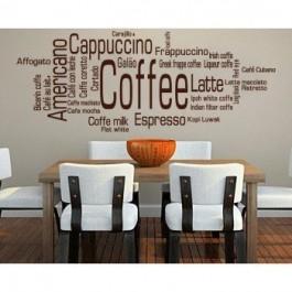 Kávé felírat