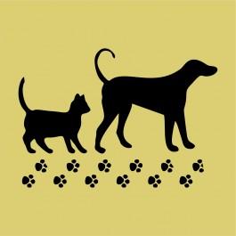 Kutya macskával