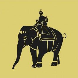 Elefánt maharadzsával