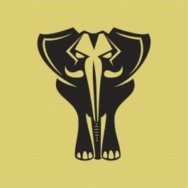Mérges elefánt
