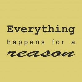 Minden okkal történik