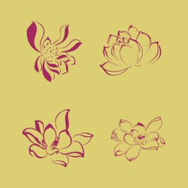 Virágszirom