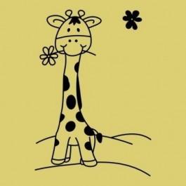 Zsiráf kölyök