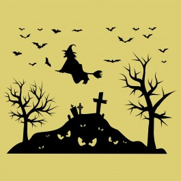 Halloween temető