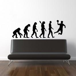 Kézilabda evolúció falmatrica