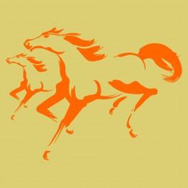 Vágtázó lovak