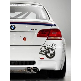 I Love My BMW autós matrica