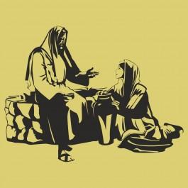 Jézus találkozik egy nővel