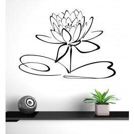 Lotusz virág falmatrica
