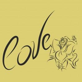 Szerelmes felírat