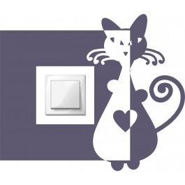 Szerelmes macska kapcsoló