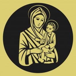 Kis Jézus és Mária