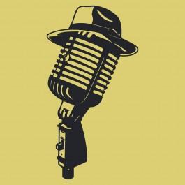 Kalapos mikrofon