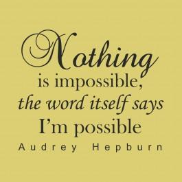 Semmi sem lehetetlen