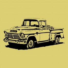 Öreg teherautó