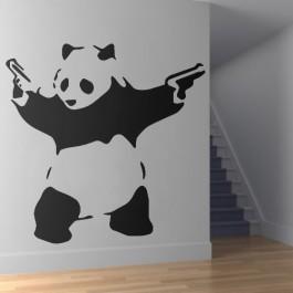 Pisztolyos panda falmatrica