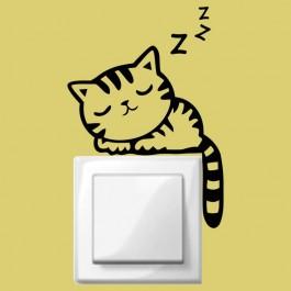 Alvó cica kapcsolómatrica