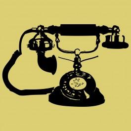 Retró telefon