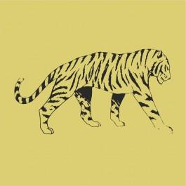 Sétáló tigris