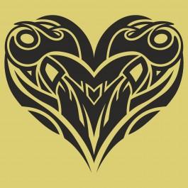 Tribál szív