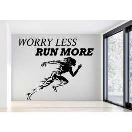 Worry less, run more falmatrica