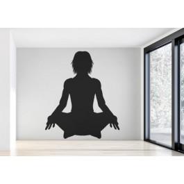 Meditáció falmatrica