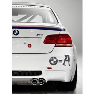 BMW autós matrica