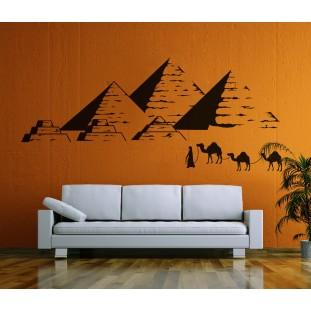 Egyiptomi piramisok falmatrica
